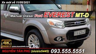Ford Everest số sàn, máy dầu mới nhất hiện tại