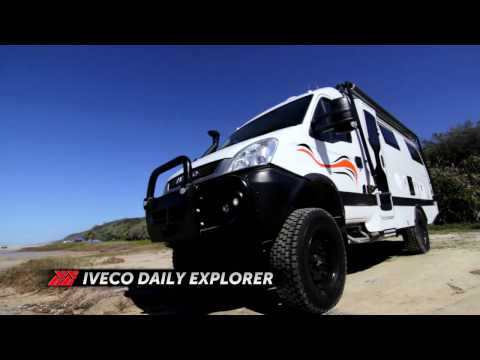 Iveco Daily 4WD Motorhome