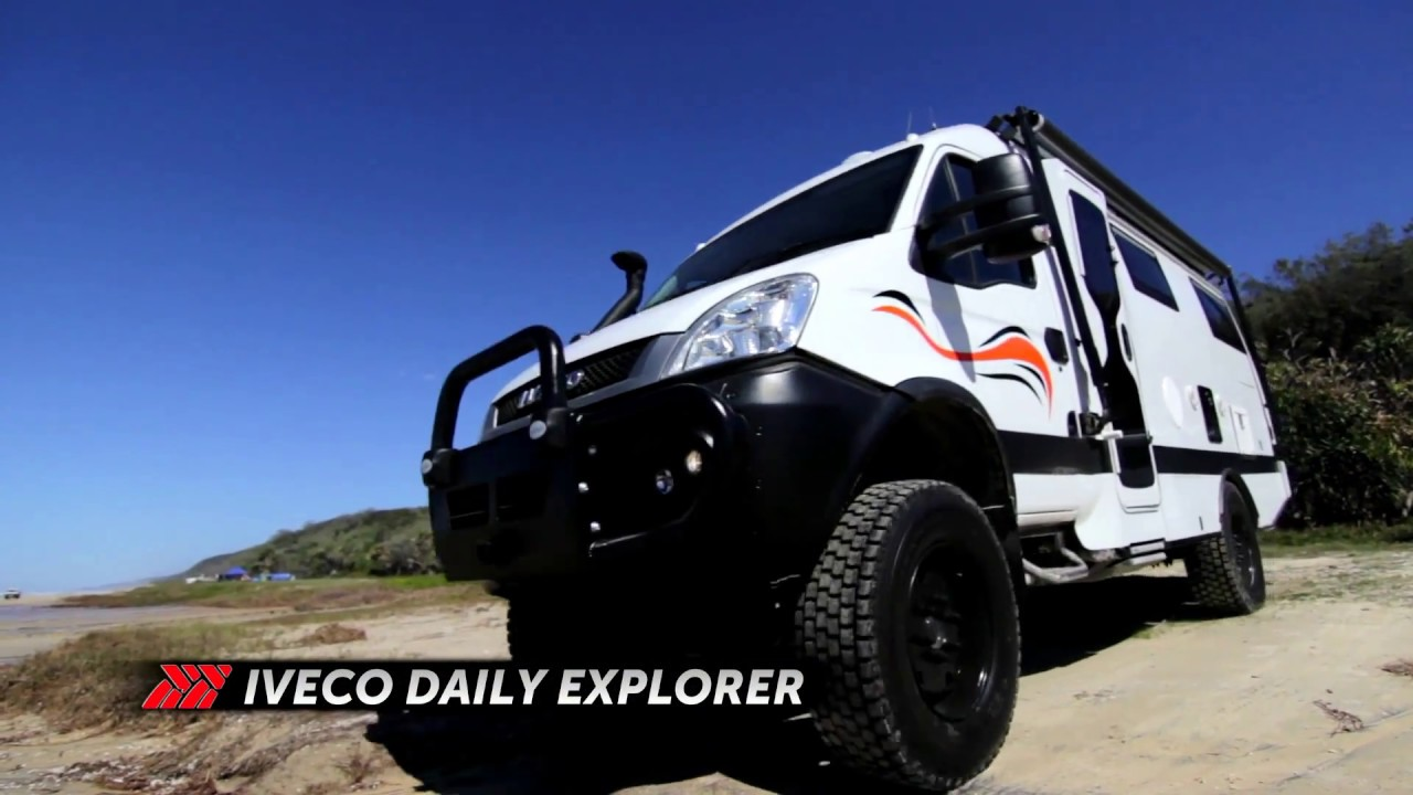 Iveco Daily 4wd Motorhome Youtube
