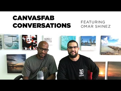 CanvasFab Conversations Featuring Omar Shinez