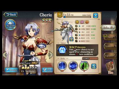 Langrisser M - The Way to Build Cherie, the Wild Princess