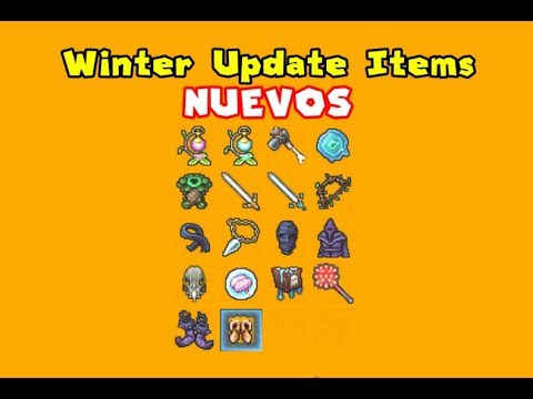 Tibia Analisis de ITEMS NUEVOS (Winter Update 2018)