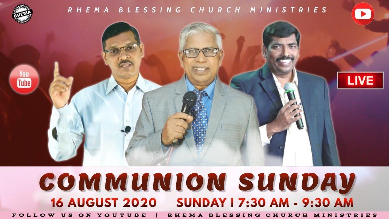 Rhema Christmas Show 2020 Communion Sunday | 16 Aug 2020 | Rhema Blessing Church   YouTube