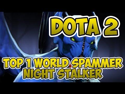 Top 1 World Night Stalker Spammer [2300+ Matches] [Dota 2] [7.22h] [Dem!goD, MD] [Gameplay]
