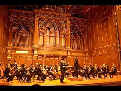 Angelo Xiang Yu - Beethoven Violin Concerto Op.61 II. Larghetto