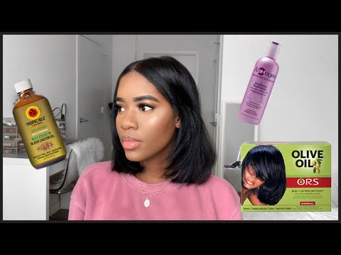 My Favorite Products For Relaxed Hair
