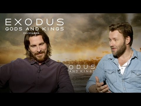 Exodus: Gods and Kings | Christian Bale and Joel Edgerton Interview [HD] | 20th Century FOX