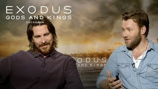Video Exodus: Gods and Kings | Christian Bale and Joel Edgerton Interview [HD] | 20th Century FOX download MP3, 3GP, MP4, WEBM, AVI, FLV Oktober 2019