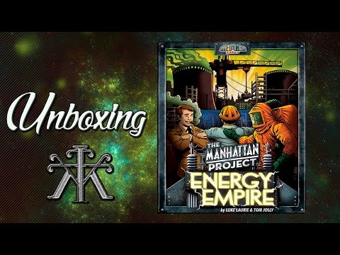 The Manhattan Project: Energy Empire - Unboxing - KLudiK