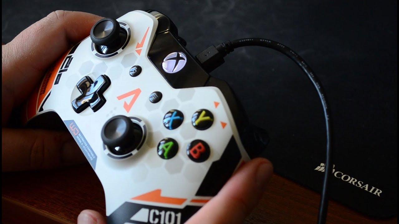 Как подключить геймпад от Xbox One к компьютеру? - YouTube