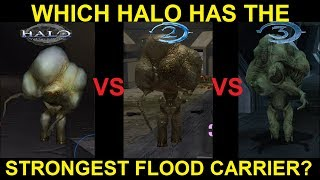 Which Halo Game Has The Strongest Flood Carriers?