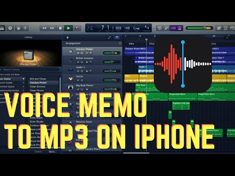 How to Convert Voice Memo to Mp3 [iPhone only Tutorial]