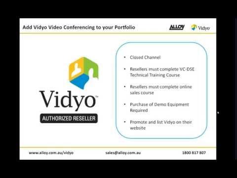 Add Vidyo video conferencing to your portfolio