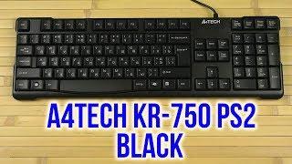 Распаковка A4Tech KR-750 PS/2 Black