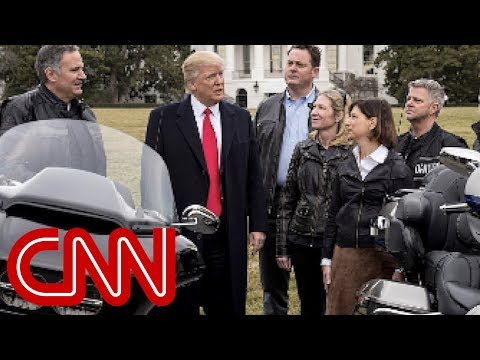 Trump blasts Harley-Davidson over production move