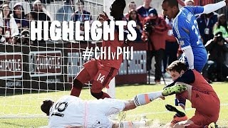 HIGHLIGHTS: Chicago Fire vs Philadelphia Union | April 5th, 2014