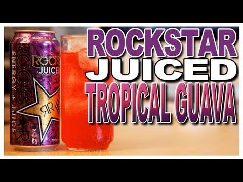New! Rockstar Juiced Tropical Guava