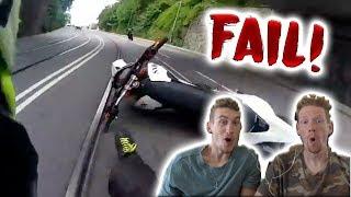 Motorrad Win/fail Compilation