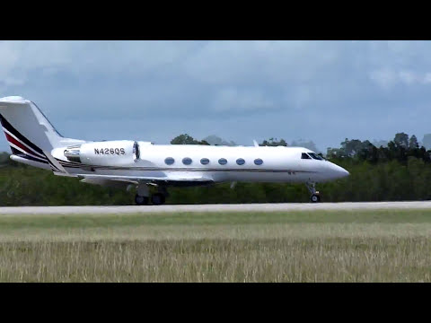 Private jet departure from la Romana international airport