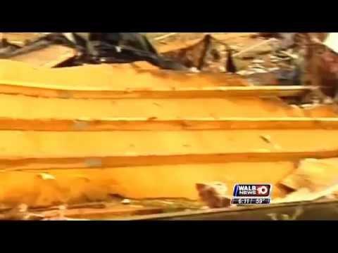 Deadly Camilla tornado anniversary February 14, 2014