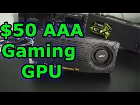 1080p Gaming GPU For $50