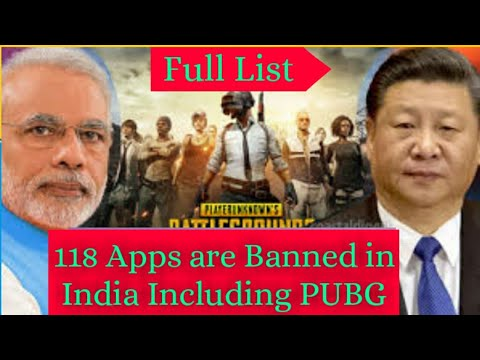 Pubg Ban in India | 118 Apps List अब क्या होगा Carryminati ,Dynamo और Mortal का ? from YouTube · Duration:  2 minutes 4 seconds