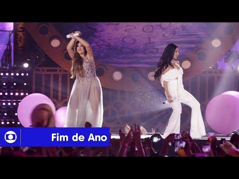 Fim de Ano na Globo: grandes nomes da música te esperam no Show da Virada