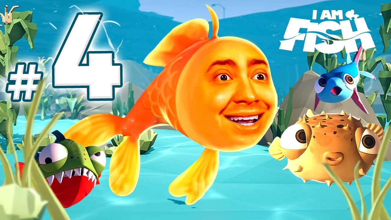 alanzoka jogando I Am Fish - Parte #4