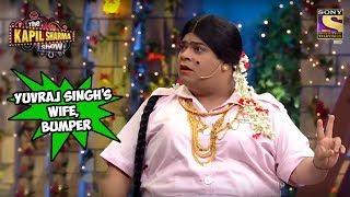 Bumper Wants To Be Yuvraj Singh's Wife - The Kapil Sharma Show