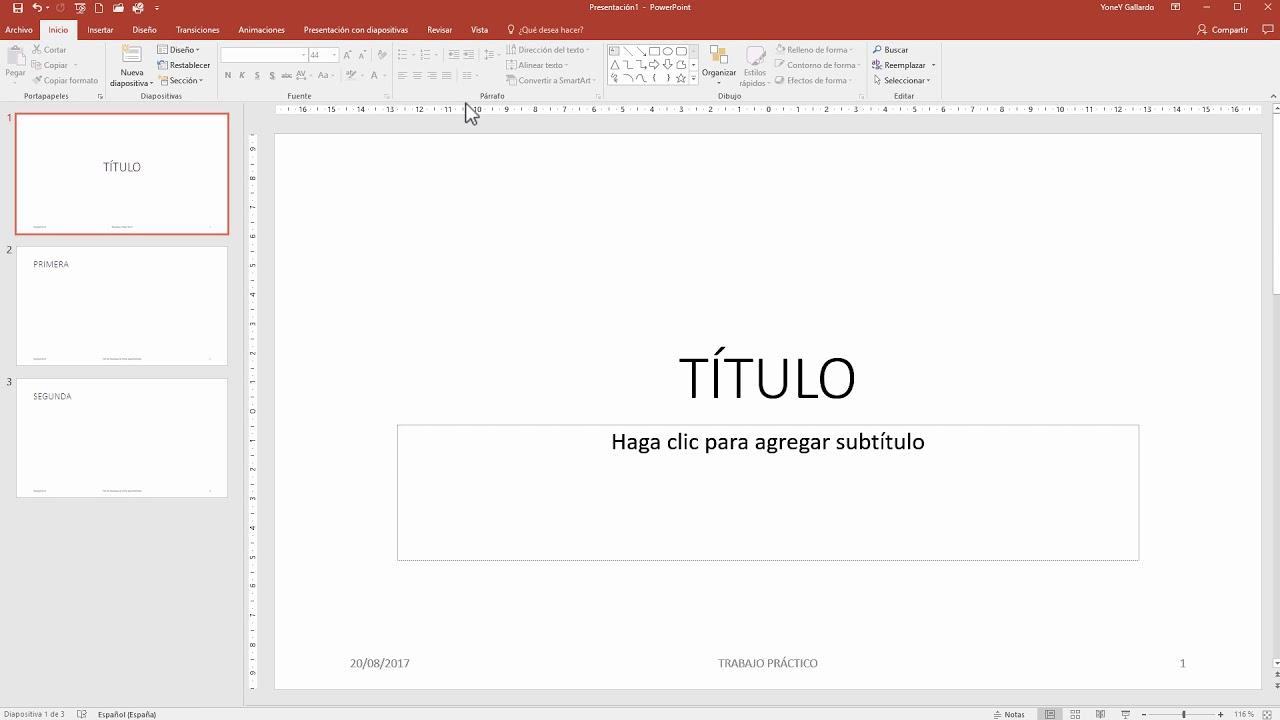 Cómo Poner Un Encabezado Y Pie Pagina En Powerpoint Youtube
