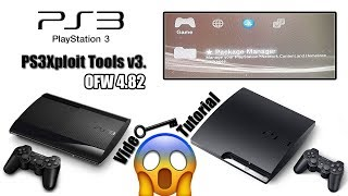 PS3Xploit v3.0 HAN Tools For PS3 Super Slim / Slim / FAT OFW 4.82 - 4.81 Install Package Files