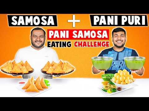 PANI SAMOSA EATING CHALLENGE | Golgappa Challenge | Pani Puri Eating Competition | Viwa Food World