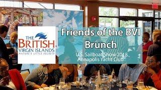 Friends of BVI Brunch - 2018 U.S. Sailboat Show