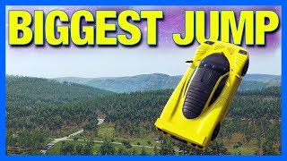 Forza Horizon 4 The Biggest Jump