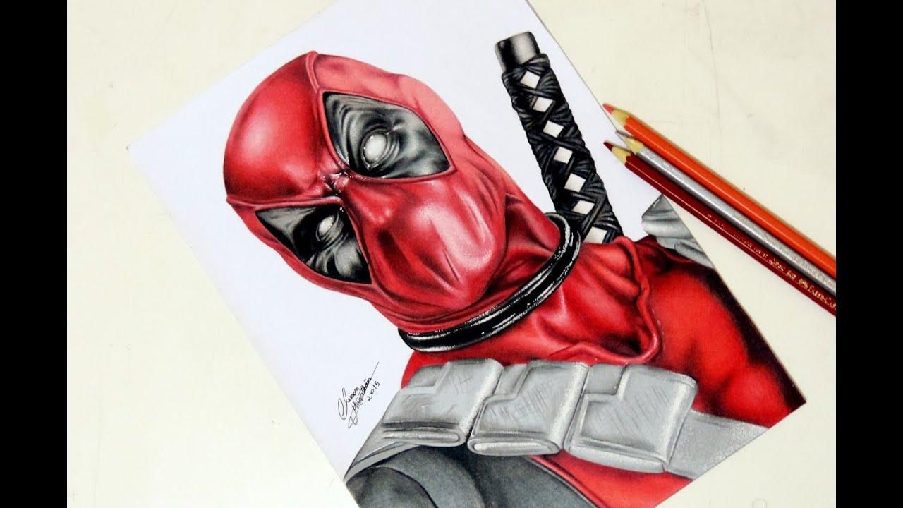 Dibujos De Deadpool: Desenhando O Deadpool - YouTube