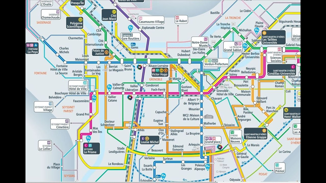 Trsm Floor Plan Tram A Grenoble Youtube
