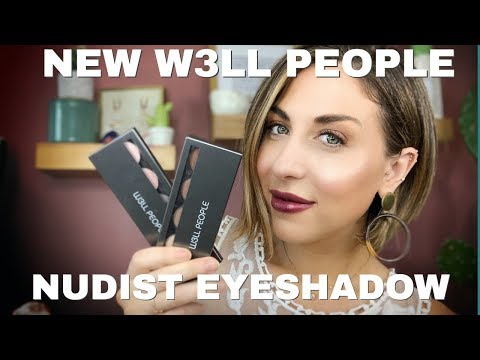 NEW W3LL PEOPLE Nudist Eyeshadow Palette Swatches + Review!