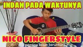 Download INDAH PADA WAKTUNYA (DEWI PERSSIK) - Nico Aldi cover Mp3
