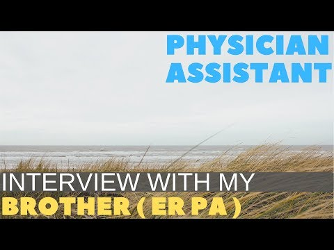 Interview with an ER PA, Undergrad to PA school to Working, Best Health Career 2018
