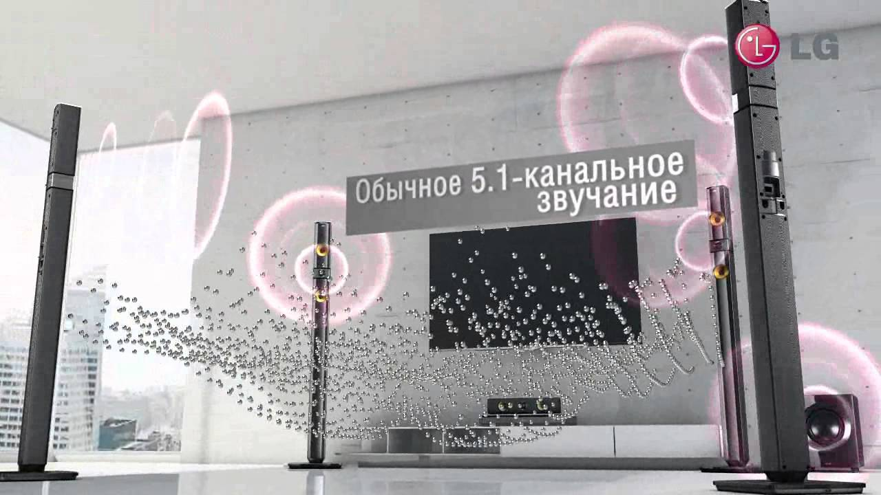 Домашний кинотеатр SONY BDV-N9100 - YouTube