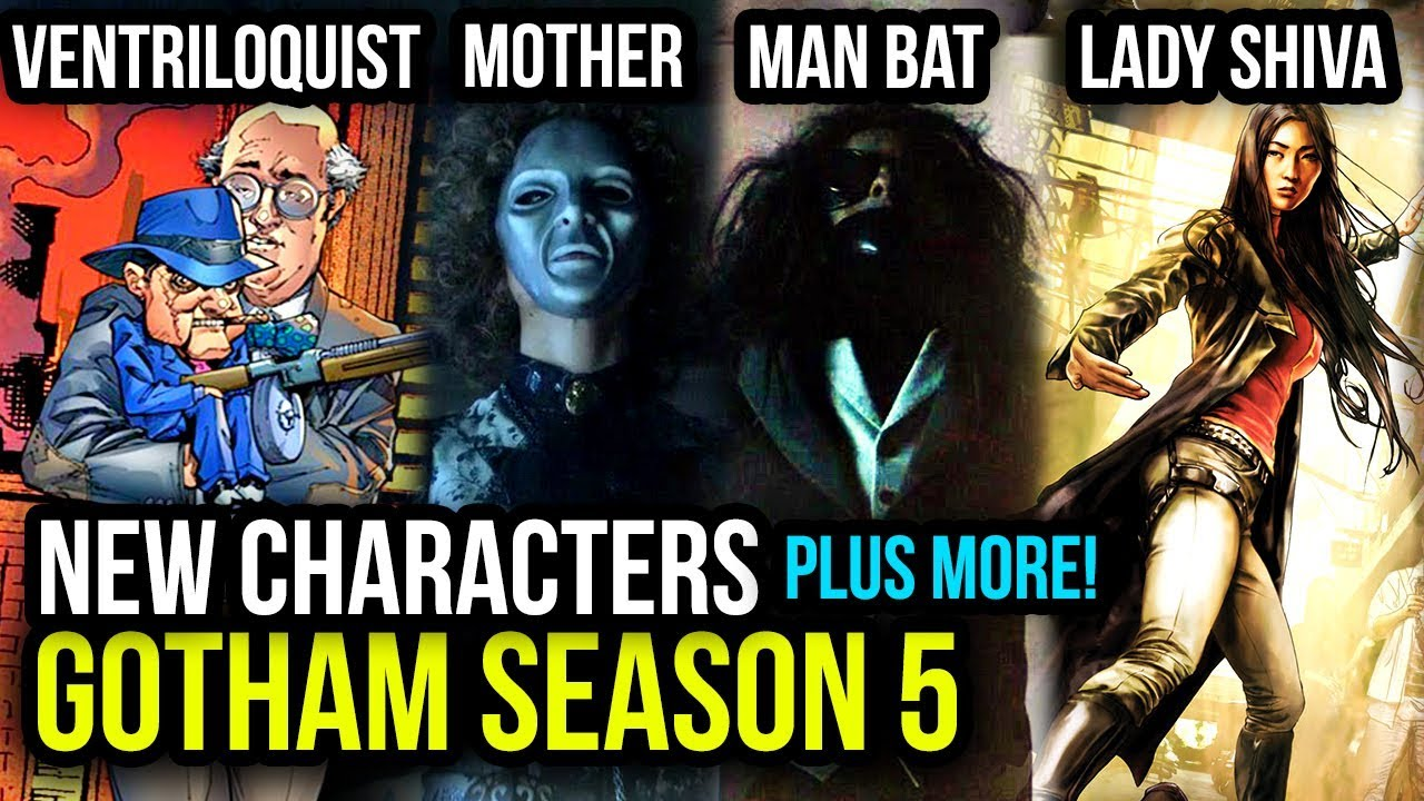 Download The NEW Villains Coming to Gotham Season 5 & Character Theories Breakdown!