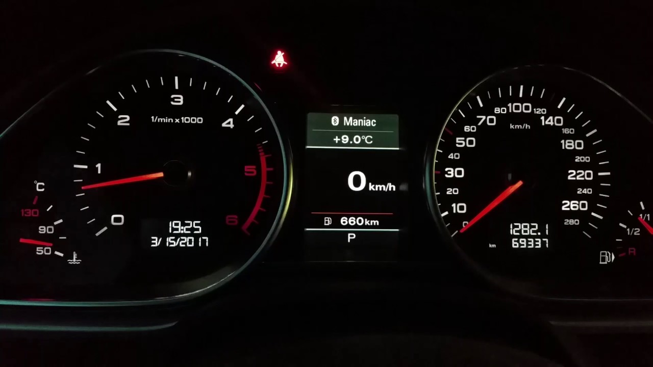 How To Change Audi Odometer From Kilometers To Miles