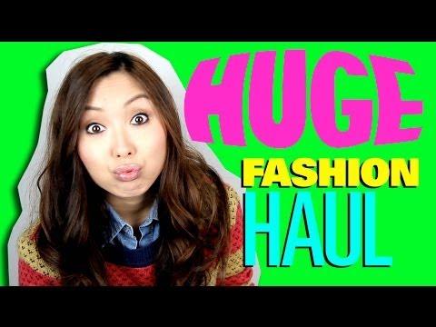 HUGE fashion haul from Japan & Malaysia!