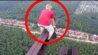 Luckiest escapes caught on camera ...