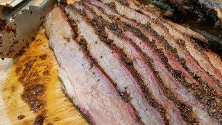 Whole Brisket on the Traeger Pellet Grill