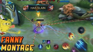 Hello I'm Back!   FANNY RANKED HIGHLIGHTS   Mobile Legends: Bang Bang