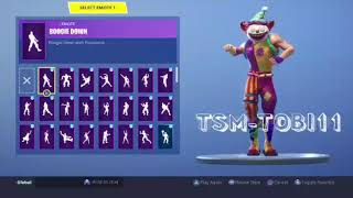 *NEW SKIN* GOOD NIGHTS Dancing all Fortnite Dances Which One Fits Better?