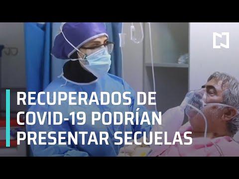 Pacientes recuperados de COVID-19 presentan secuelas - En Punto