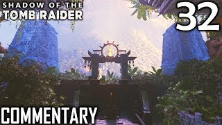 Shadow Of The Tomb Raider Walkthrough Part 32 - Temple Of The Sun & Thirsty Gods Challenge Tomb