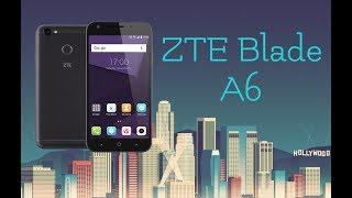 zTE BLADE A6 Обзор смартфона  тест в игре
